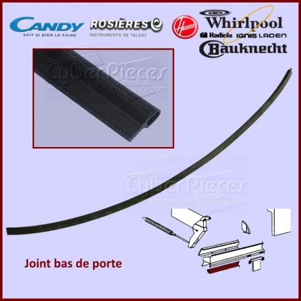 joint bas de porte whirlpool 481246668467 pour joints (bas et tour