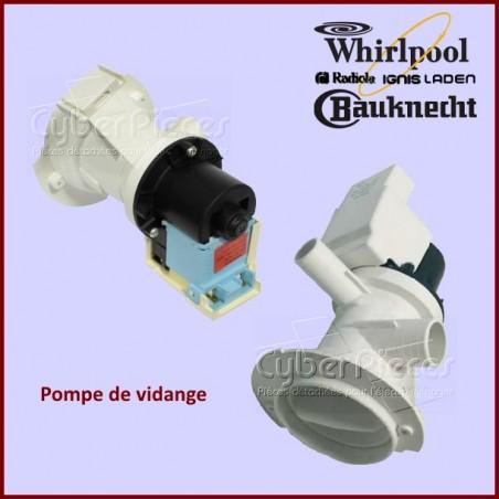 Pompe de Vidange Whirlpool 481236018529