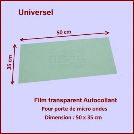 Film adhésif Plastique De Porte 50 x 35 cm
