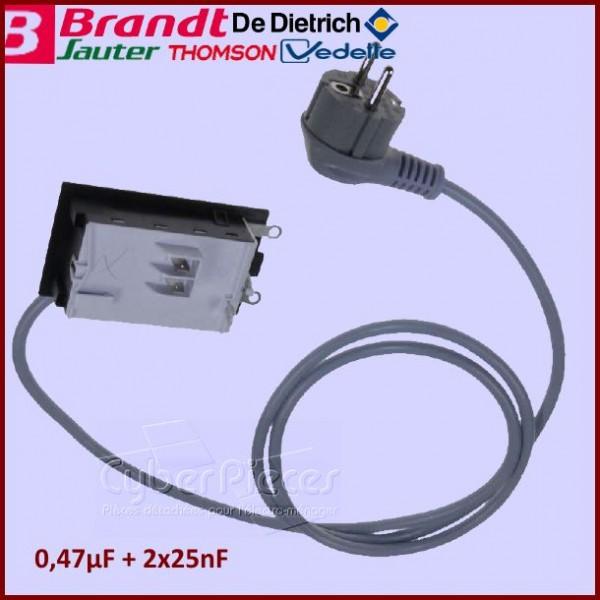 Filtre Anti-Parasite avec Câble 52X5171 Brandt