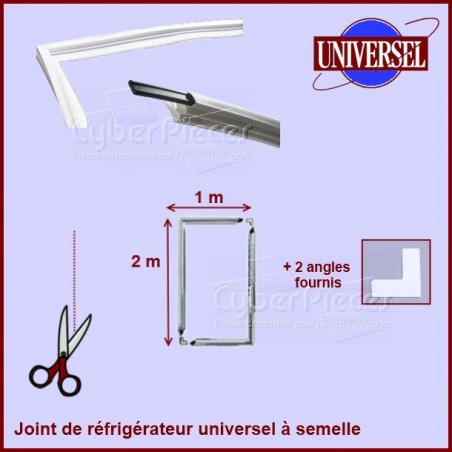 Kit joint magnétique à semelle dimension 1m x 2m