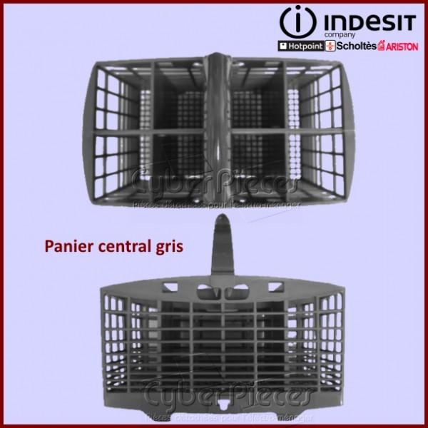 Panier central gris seul Indesit C00096055