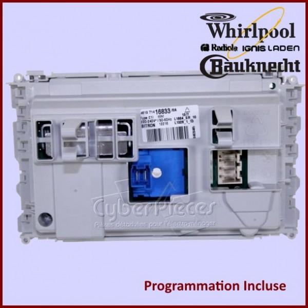 Platine de Puissance Whirlpool 480111104634