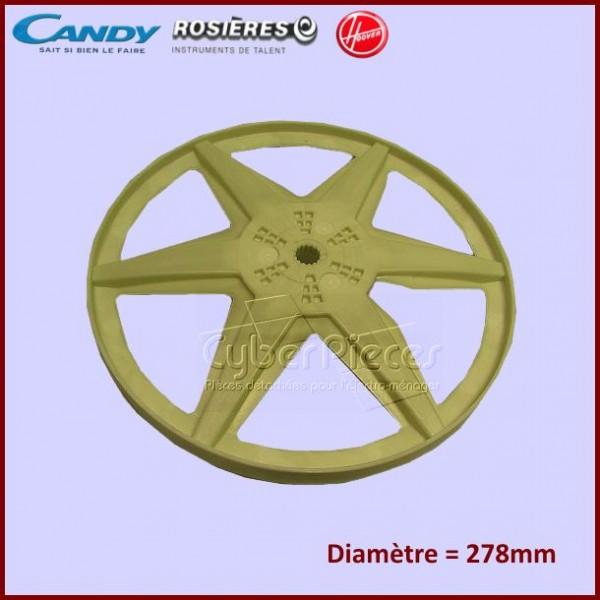 Poulie tambour candy 41024467 pour machine a laver lavage for Nettoyage tambour machine a laver