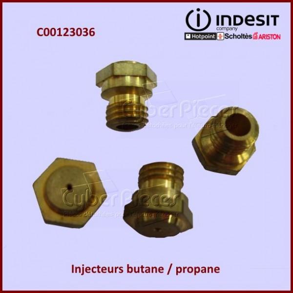 Jeu De 4 Injecteurs Butane / Propane Indesit C00123036