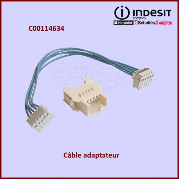 Câble adaptateur Indesit C00114634
