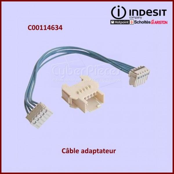 c ble adaptateur indesit c00114634 pour modules electroniques machine a laver lavage pieces. Black Bedroom Furniture Sets. Home Design Ideas