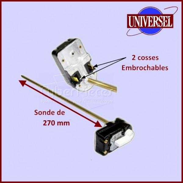 Thermostat Chauffe-eau avec Sonde de270mm