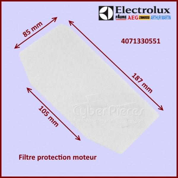 Filtre moteur Aspirateur Electrolux 4071330551