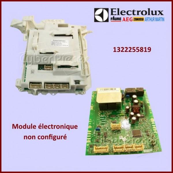 Module Electronique Electrolux 1322255819 à configurer par nos soins