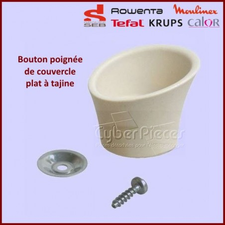 Poignée Bouton Beige Tajine Seb TS-01000570