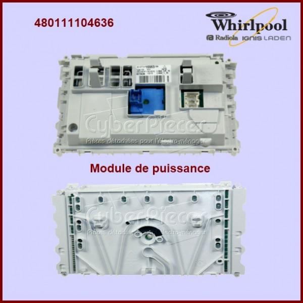 Platine de commande DOMINO Whirlpool 480111104636