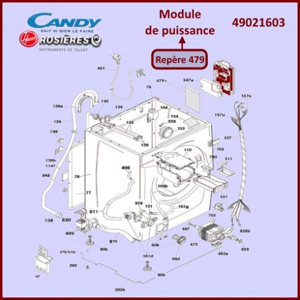 Module de puissance Hoover 49021603