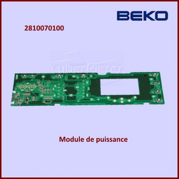 Module de commande Beko 2817730100