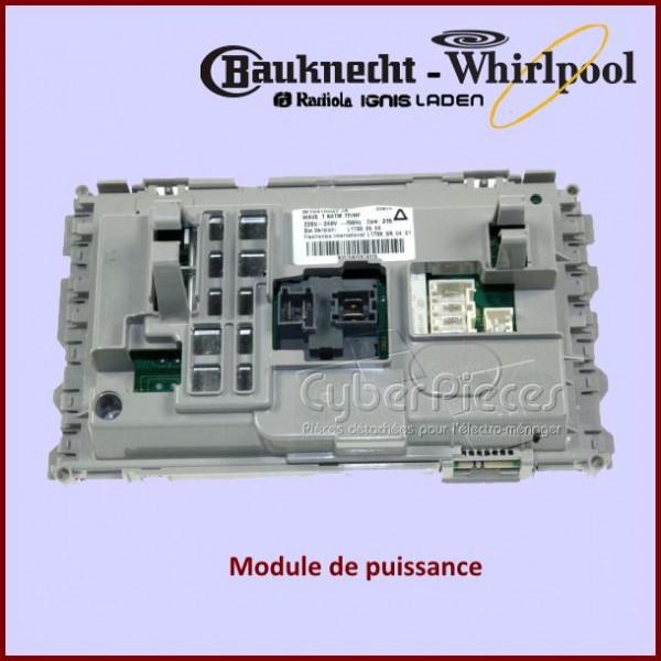 Module de puissance Whirlpool 480111103858