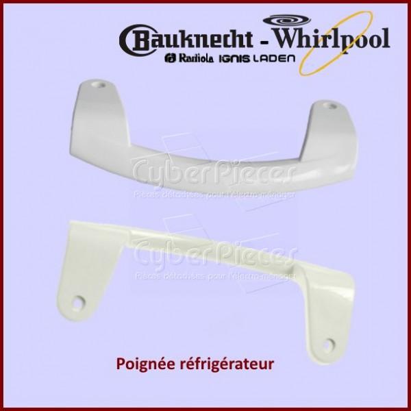 Poignée de porte de réfrigérateur Whirlpool 481246268891