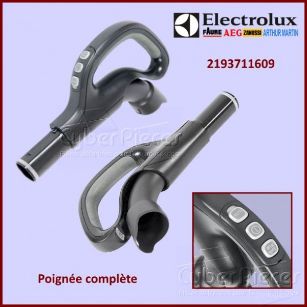 Poignée complète d'aspirateur Electrolux 2193711401