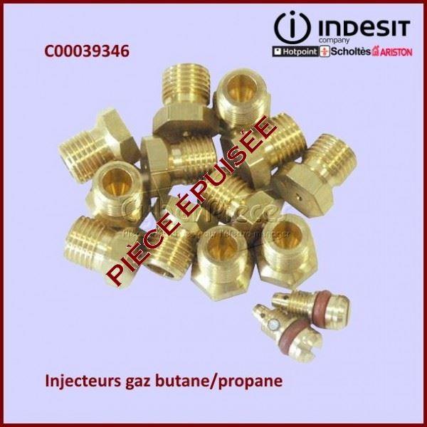 Jeu D'injecteurs butane / propane Indesit C00039346***épuisé***