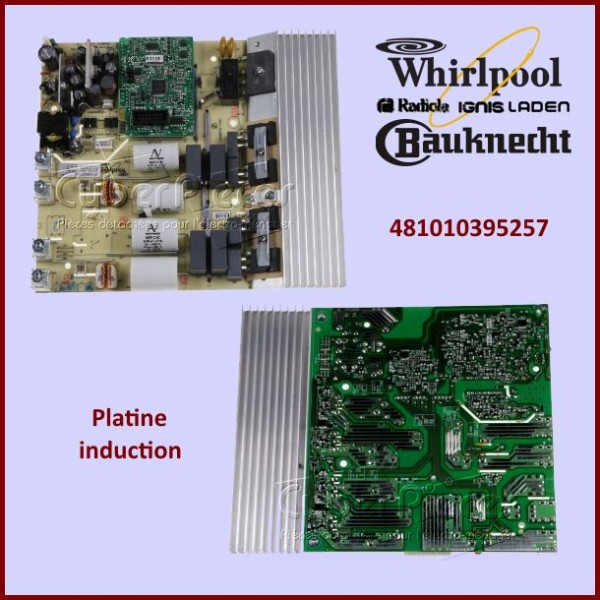 Platine de puissance Whirlpool 481010395257