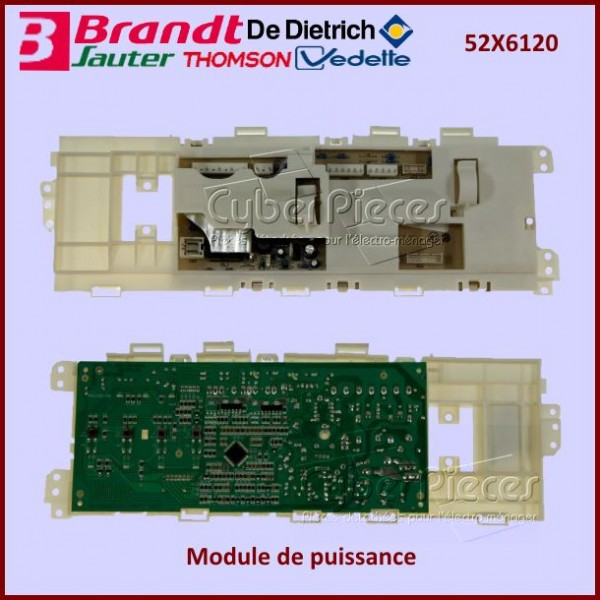 Module électronique Brandt 52X6120