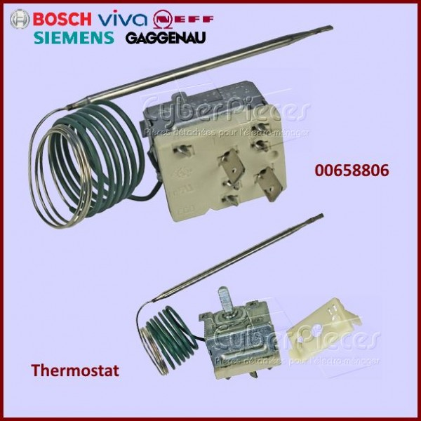 Thermostat de four Bosch 00658806
