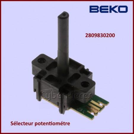 Sélecteur potentiomètre Beko 2809830200
