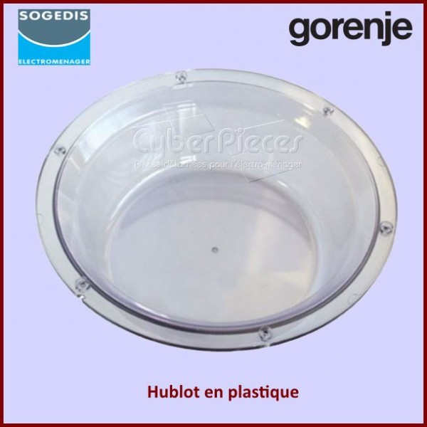 Hublot version plastique Gorenje 03010749