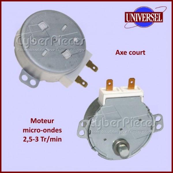 Moteur de micro-ondes 2,5 à 3TR/MIN avec axe court