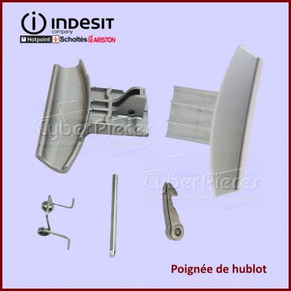 Poignée de hublot Indesit C00275100