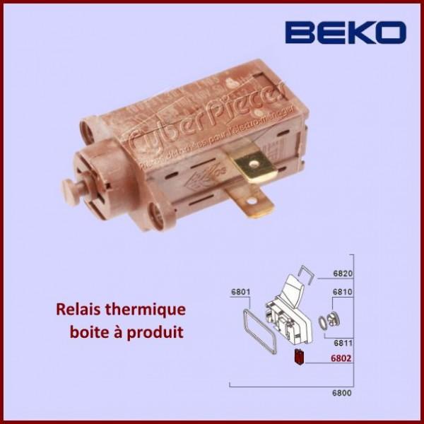 relais thermique beko 1831470000 pour les boites produits lave vaisselle lavage pieces. Black Bedroom Furniture Sets. Home Design Ideas