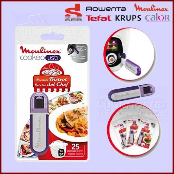 Clé USB Cookeo - Recettes Bistrot Seb XA600411