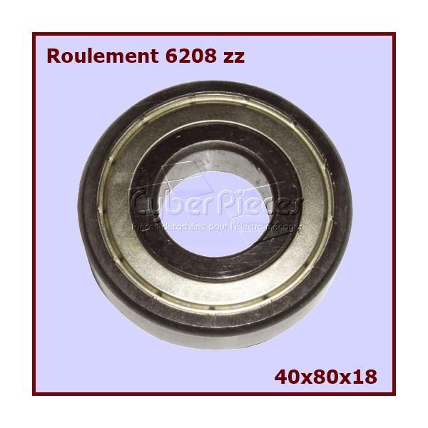 roulement 6208zz pour machine a laver lavage pieces detachees electromenager. Black Bedroom Furniture Sets. Home Design Ideas