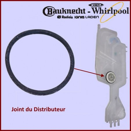 Joint torique REG.DOSAGE Whirlpool 480140102392