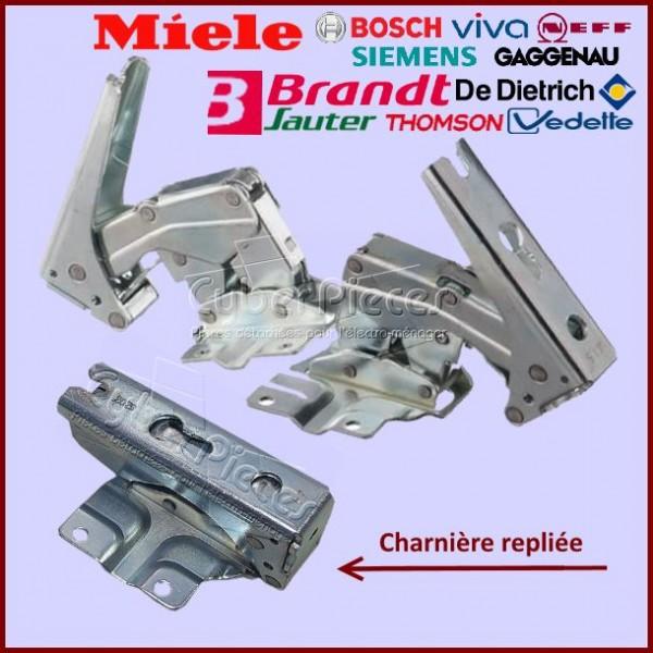 Lot de 2 charnières Bosch 12004051