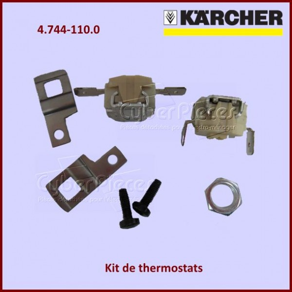 Kit de 2 thermostats Karcher 47441100