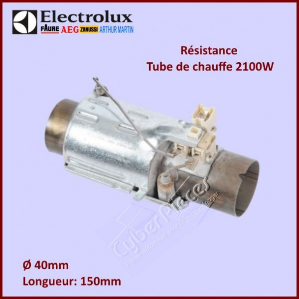 Résistance tube de chauffe 2100W Electrolux 50277796004