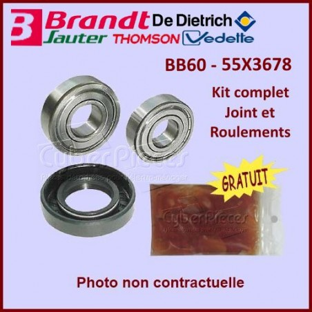 Kit Palier BB60 Groupe Brandt 55X3678