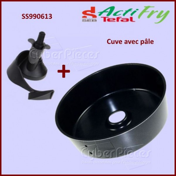 Cuve Anti adhésive + pale Actifry SS-990613