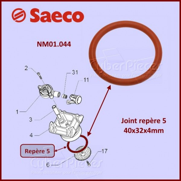 Joint silicone SAECO NM01044