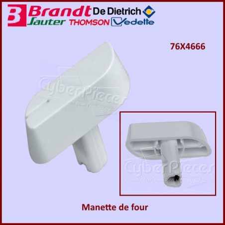 Manette Blanche de four Brandt 76X4666