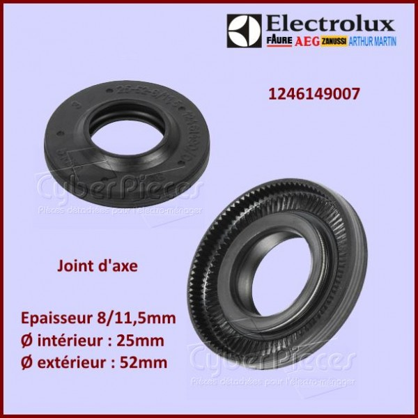 Joint d'axe 25X52X8/11,5 Electrolux 1246149007