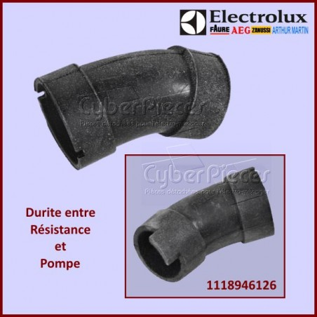 Durite de la Pompe au chauffage Electrolux 1118946126