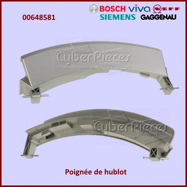 Poignée de hublot Bosch 00648581