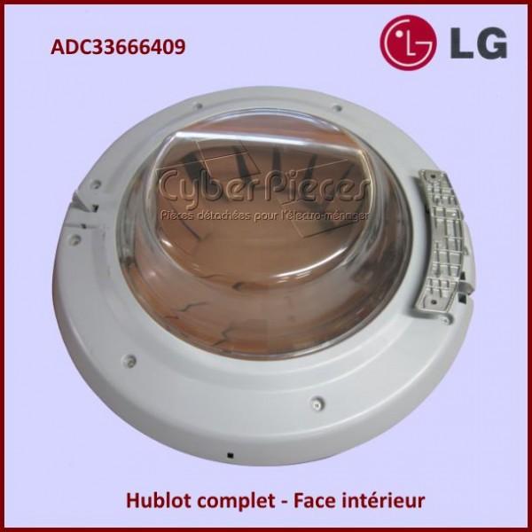Hublot complet lg adc33666409 pour hublot machine a laver - Stickers pour machine a laver hublot ...