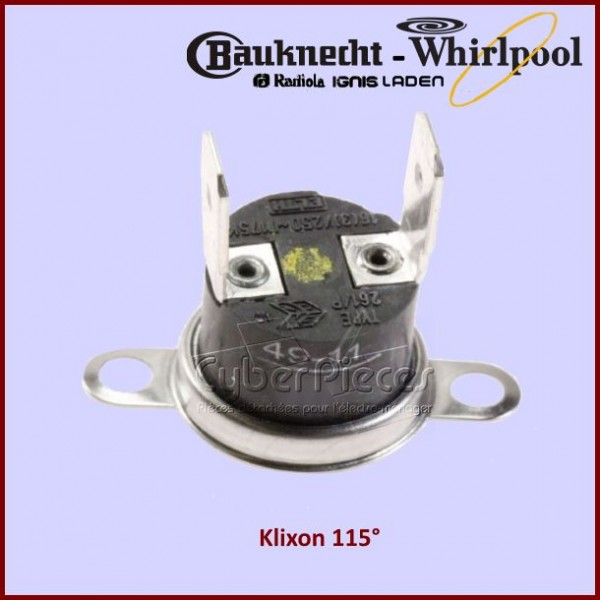 Klixon 115° Whirlpool 481228228346