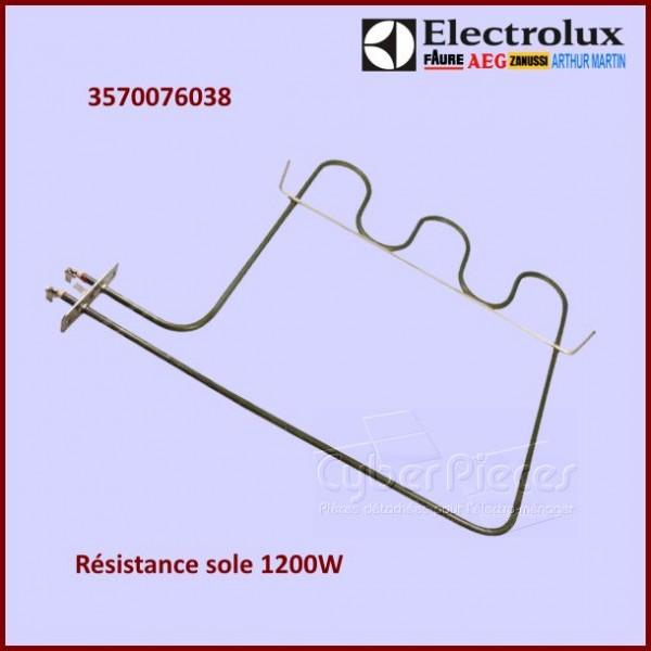 Résistance sole 1200W Electrolux 3570076038