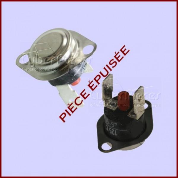 klixon 125 176 r 233 armable whirlpool 481227128213 pi 232 ce 233 puis 233 e pour seche linge lavage pieces