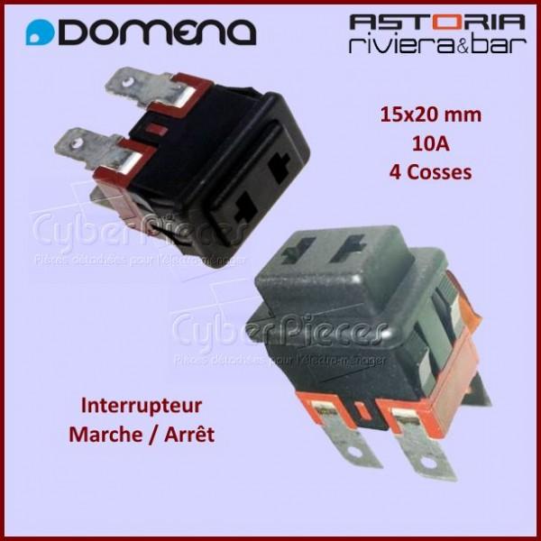 Interrupteur Marche Arrêt Domena C20028