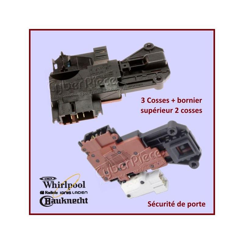 Sécurité de porte Whirlpool 481228058019