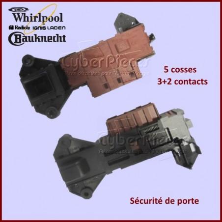 Sécurité de porte Whirlpool 481228058044